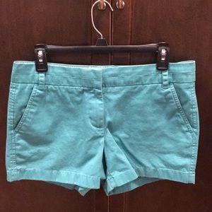 J. Crew Chino Shorts - size 6